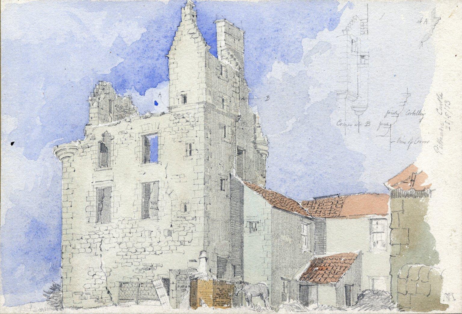 Pitteadie Castle