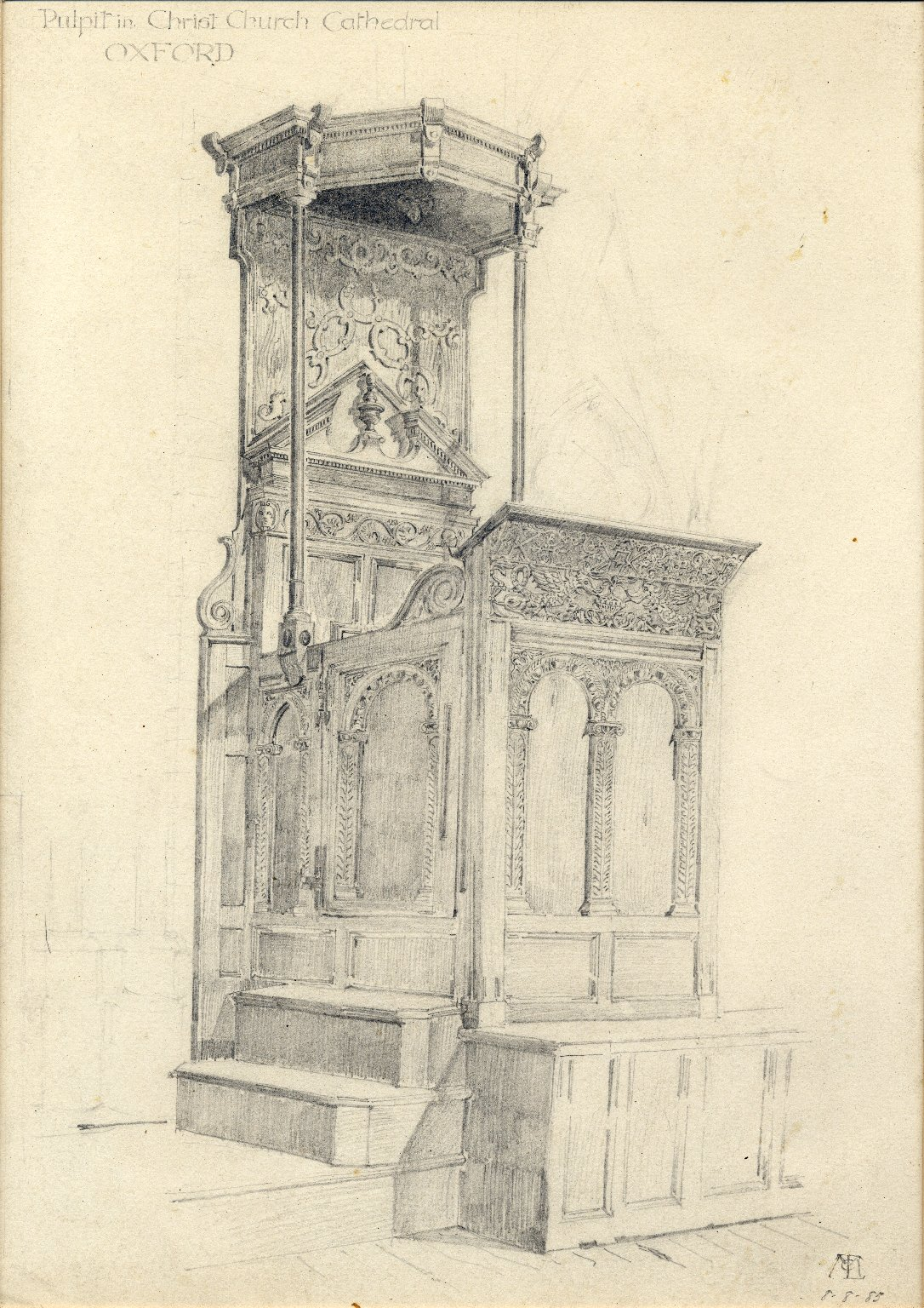 Pulpit at Christ Church Cathedral