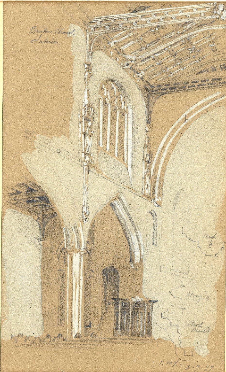 Interior of Bruton Church