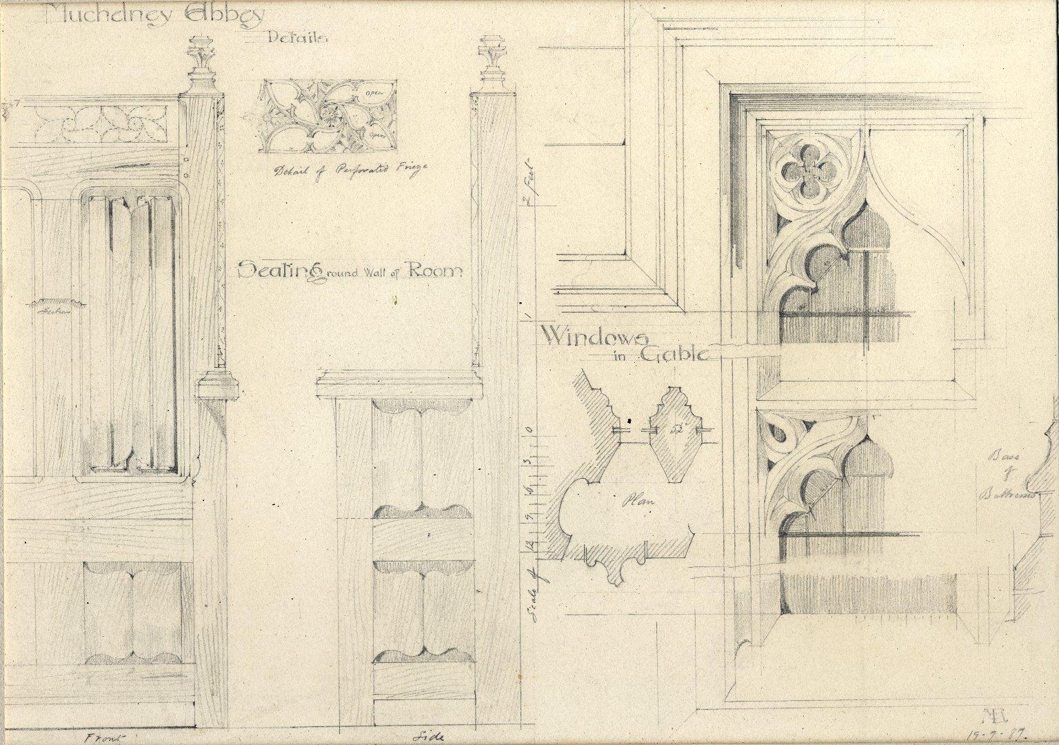 Muchelney Abbey, details