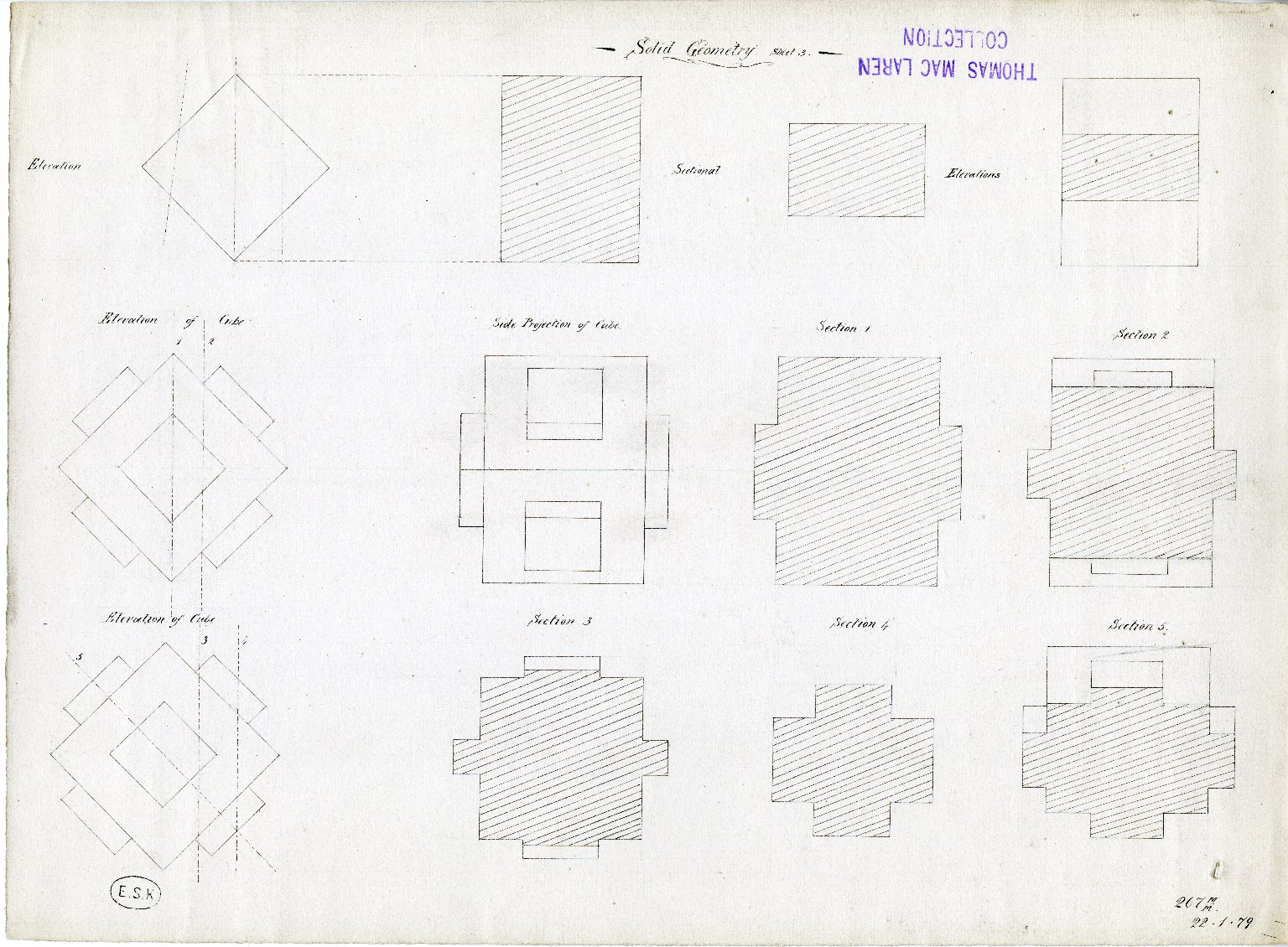 Solid Geometry. Sheet 3
