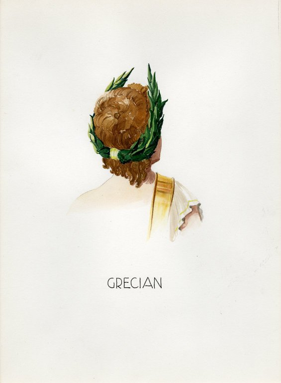 Plate V: Grecian headdress