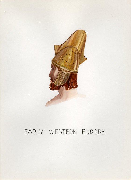 Plate XI: Early Western Europe helmet
