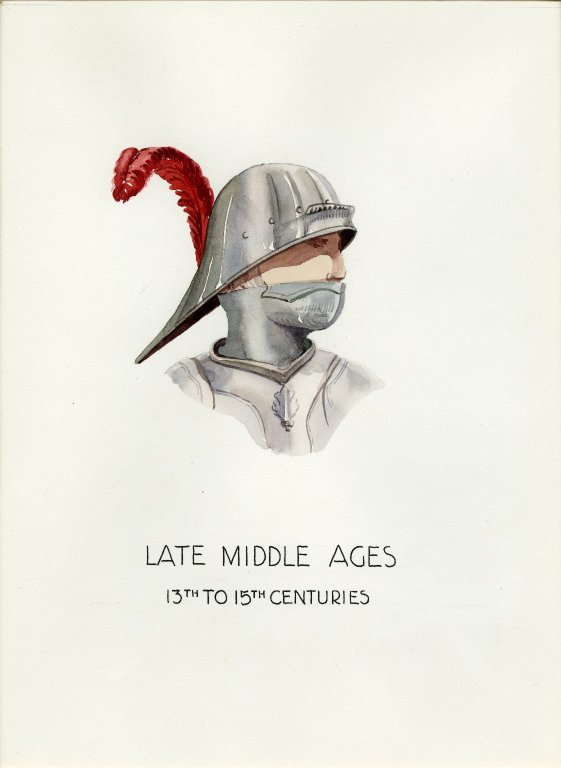 Plate I: Late Middle Ages German helmet