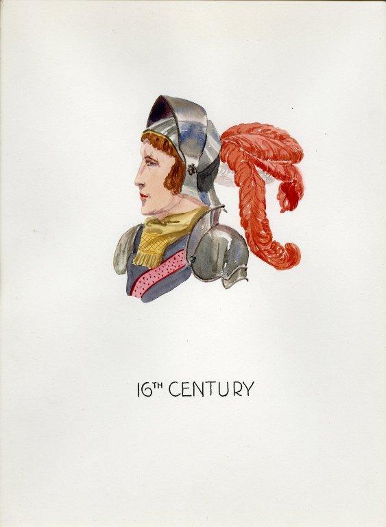 Plate XIV: 16th Century German helmet