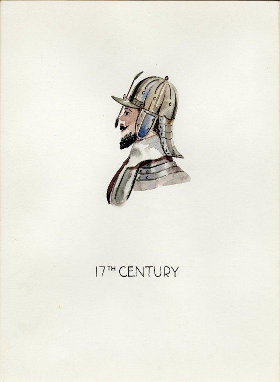Plate I: 17th Century German helmet