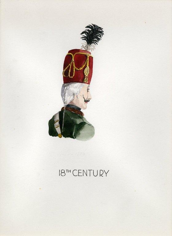 Plate VIII: 18th Century Prussian helmet
