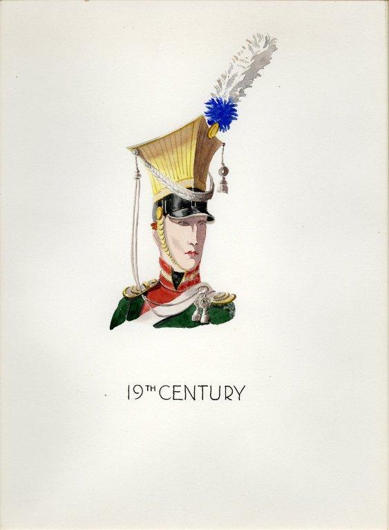 Plate XVII: 19th Century French helmet