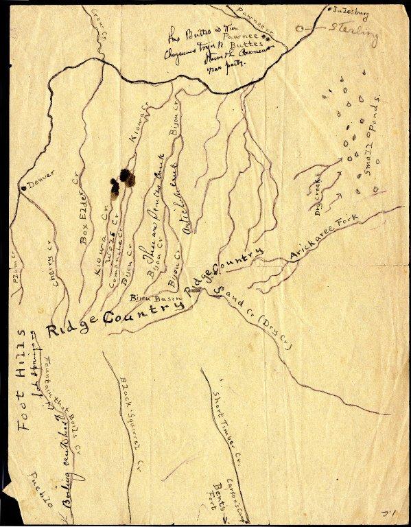 Kiowa Fight, 1820