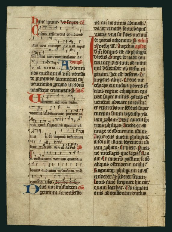 Noted Missal. Germany ( Wartburg)