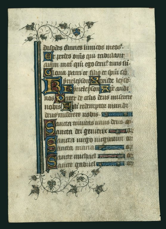 Book of Hours. Northern France [illuminated]