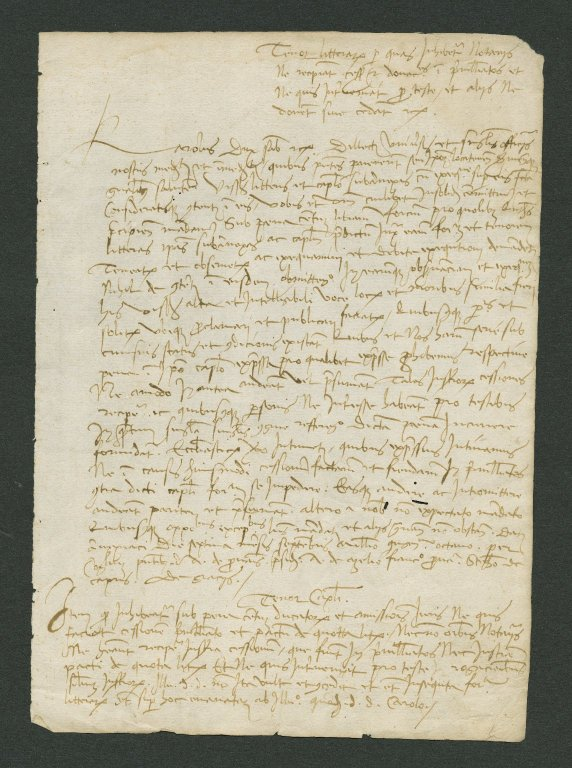 Notarial letter