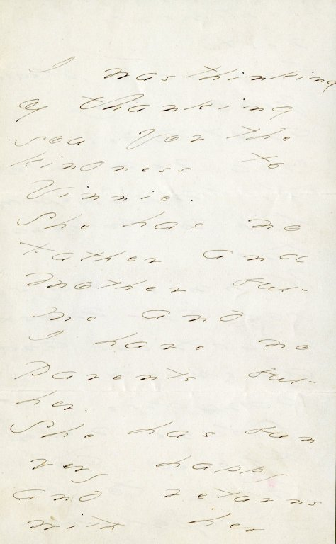 Dickinson, Emily. ALS, 5 pages incorporating a 12-line poem, [1850s].