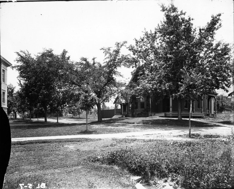 [Photograph of Cottage No. 1, 1911 or later]