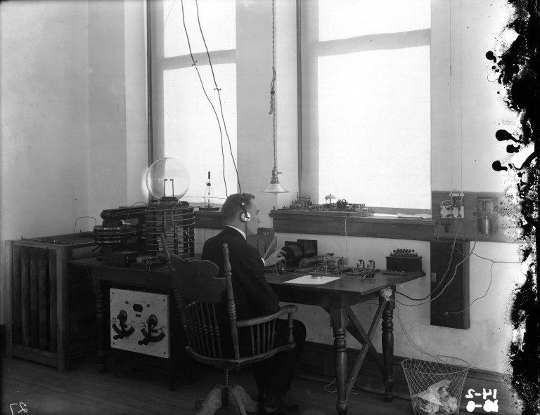 Wireless Station - Cornelius J. Marvin 1911