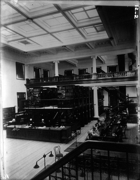 Library Interior A '04