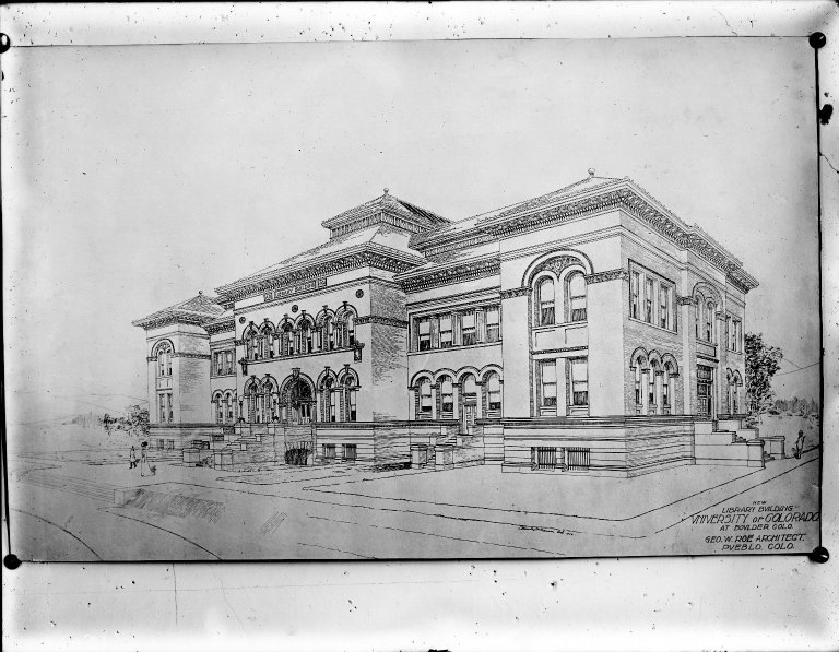 Library Architect's Elevation