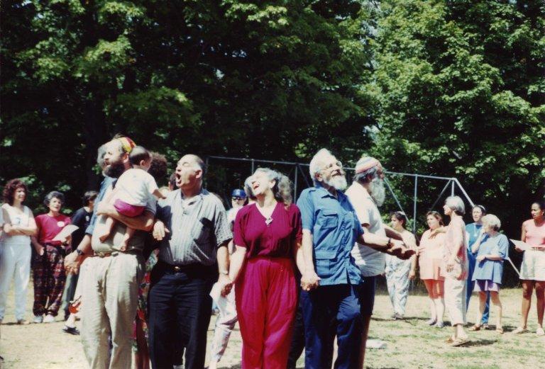 Circle chant, ca. 1990.