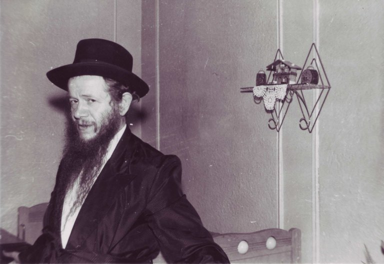 Rabbi Menachem Ze`ev Greenglass, ca. 1950s.