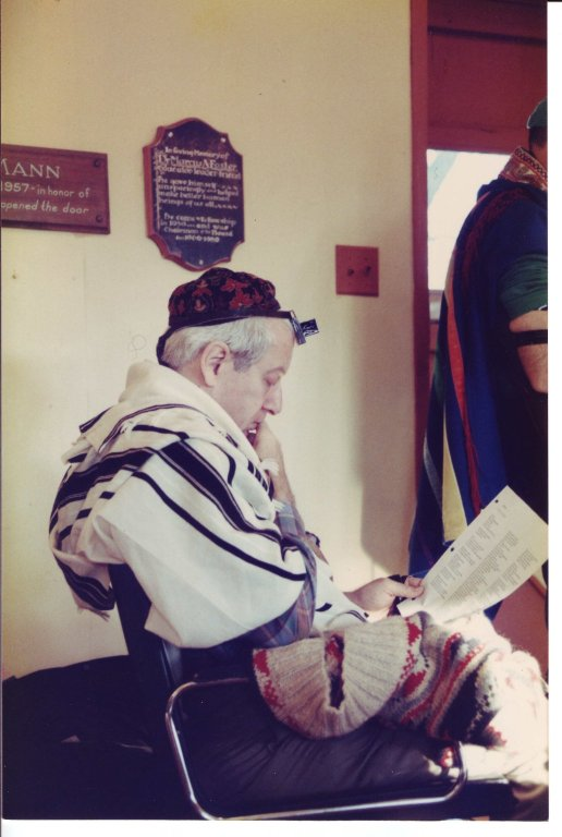Rabbi Jonathan Omer-Man at a Wisdom School workshop where he played the Maggid of Mezritch.