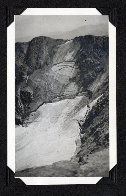 Glacial bowl