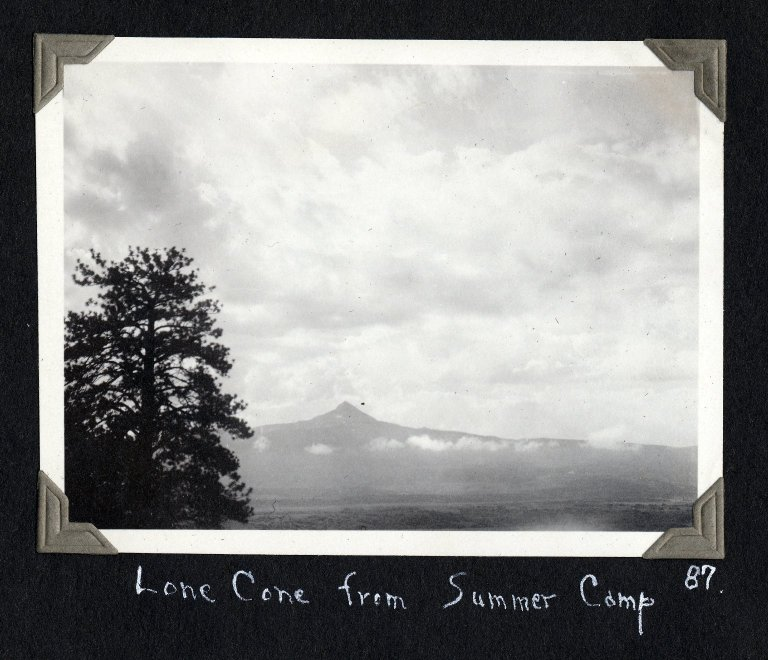 Lone Cone from Summer Camp