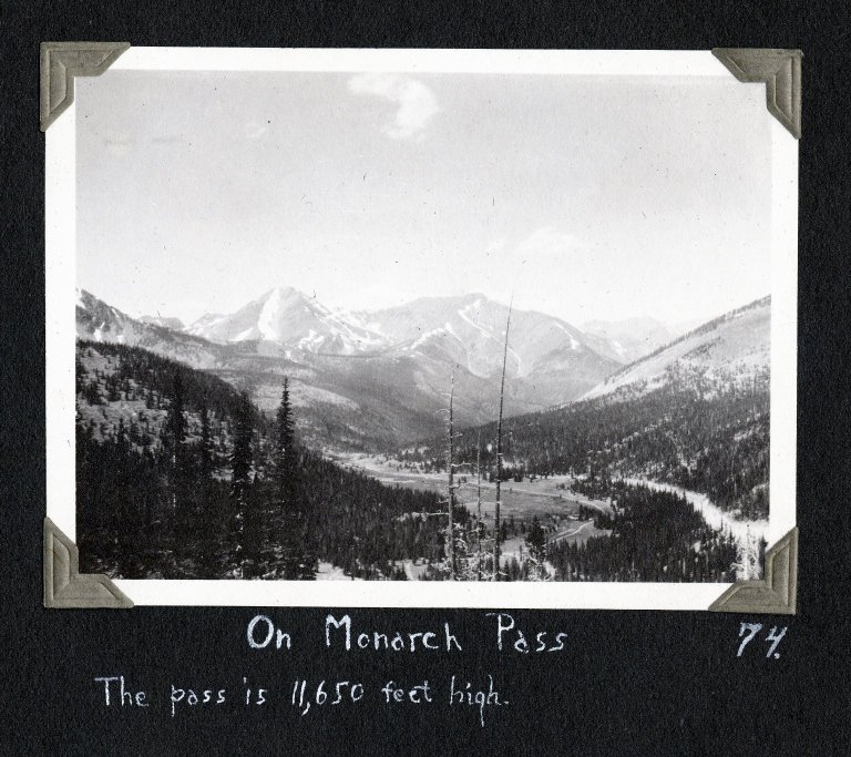On Monarch Pass