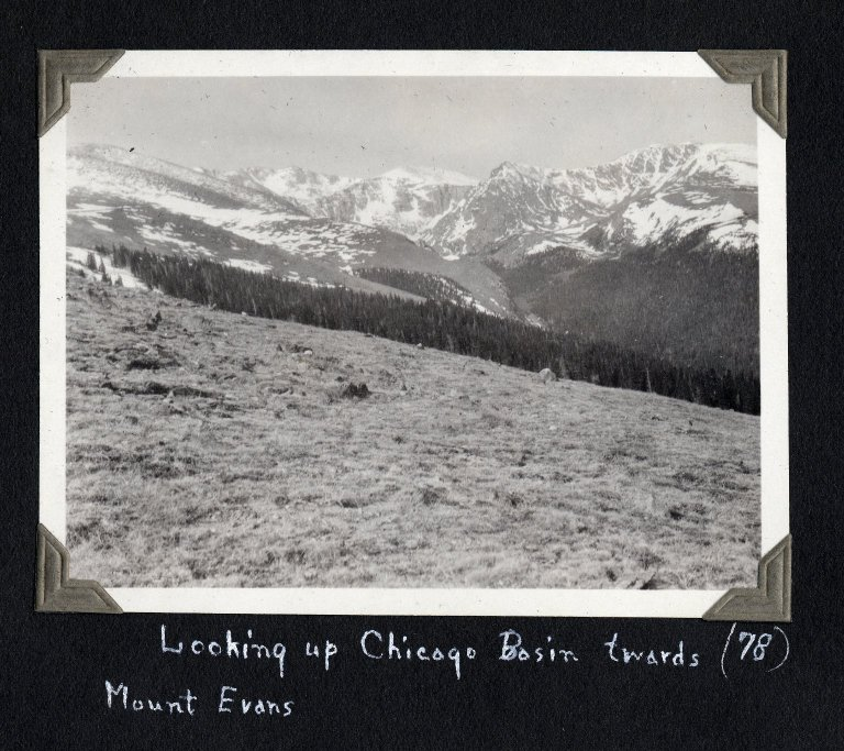 Mount Evans from Chicago Basin