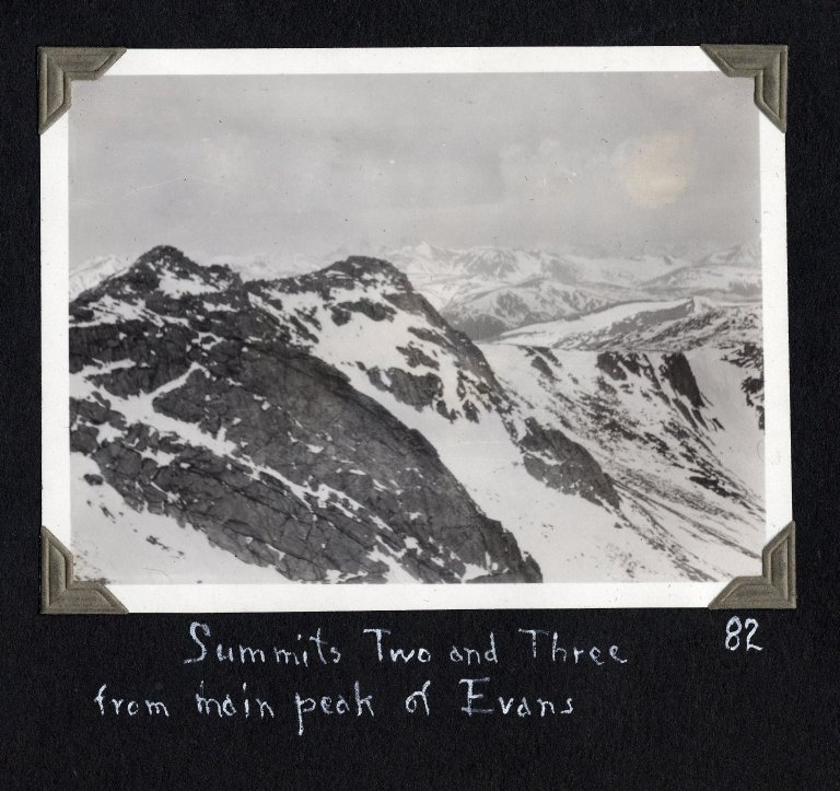 Summits Two ans Three of Mount Evans