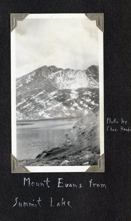 Mount Evans from Summit Lake