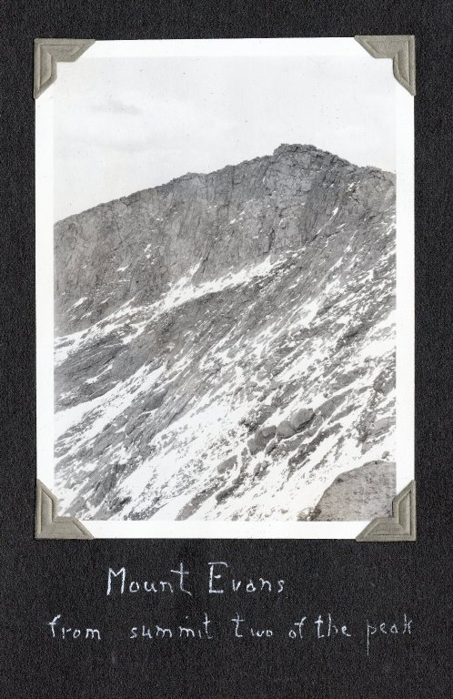 Mount Evans, seen from summit two