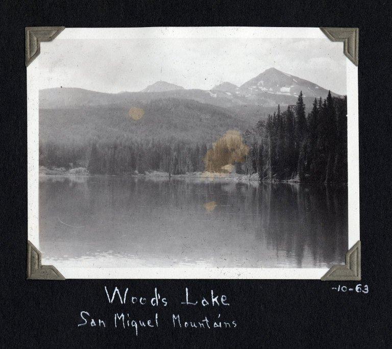 Woods Lake, San Miguel Mountains