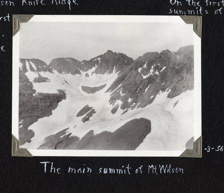 The main summit of Mount Wilson