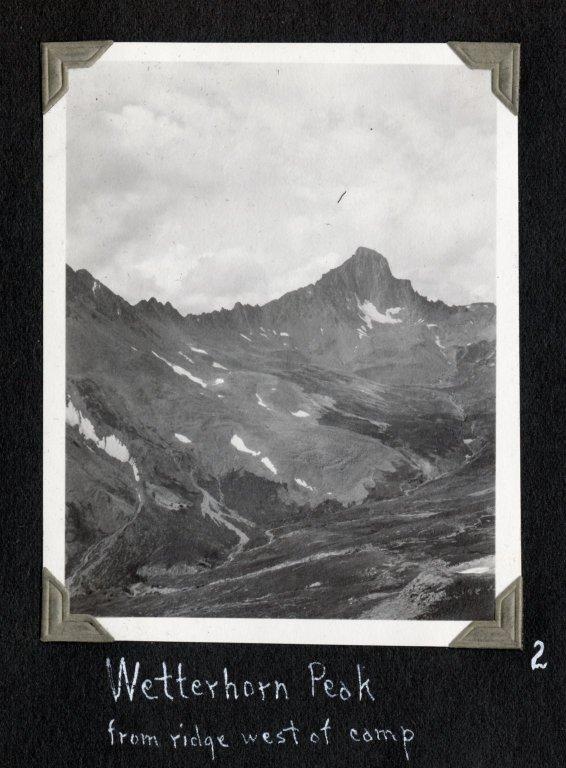 Wetterhorn Peak