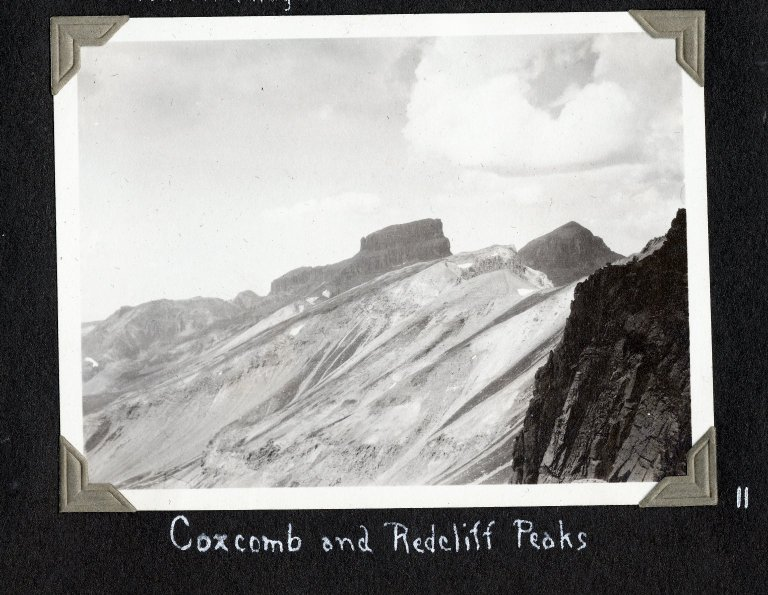 Redcliff and Coxcomb Peak