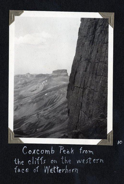 Coxcomb Peak from west face of Wetterhorn Peak