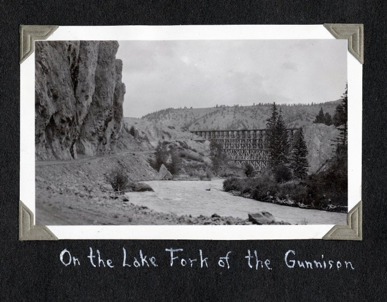 On the Lake Fork of the Gunnison River