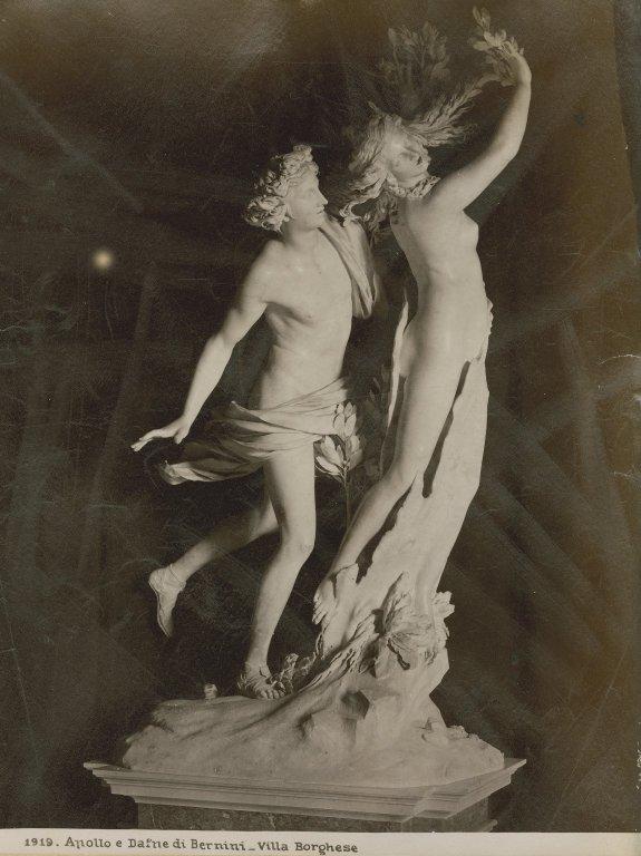 Apollo and Daphne, by Bernini