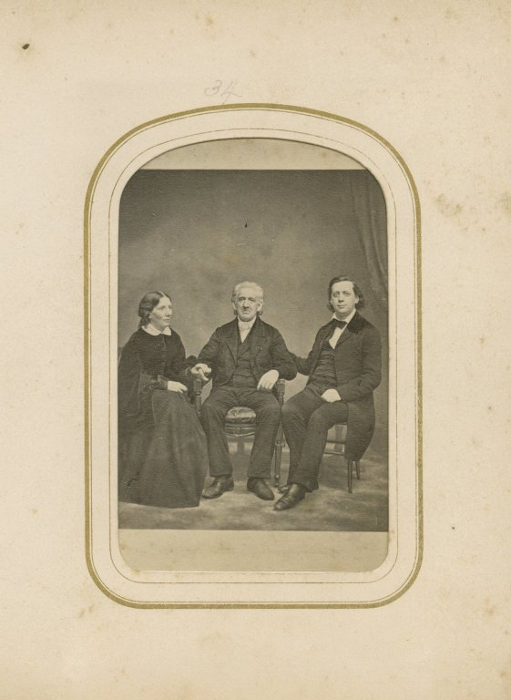 Mrs. Stowe, H.W. Beecher, And Father
