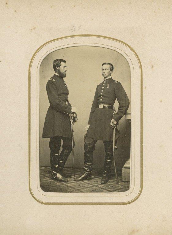 Count De Paris And Duc De Chartres