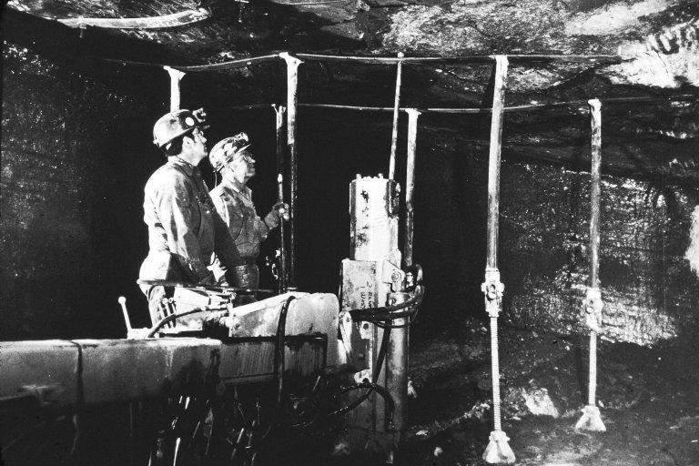 Allen Mine, CF&I, 1971