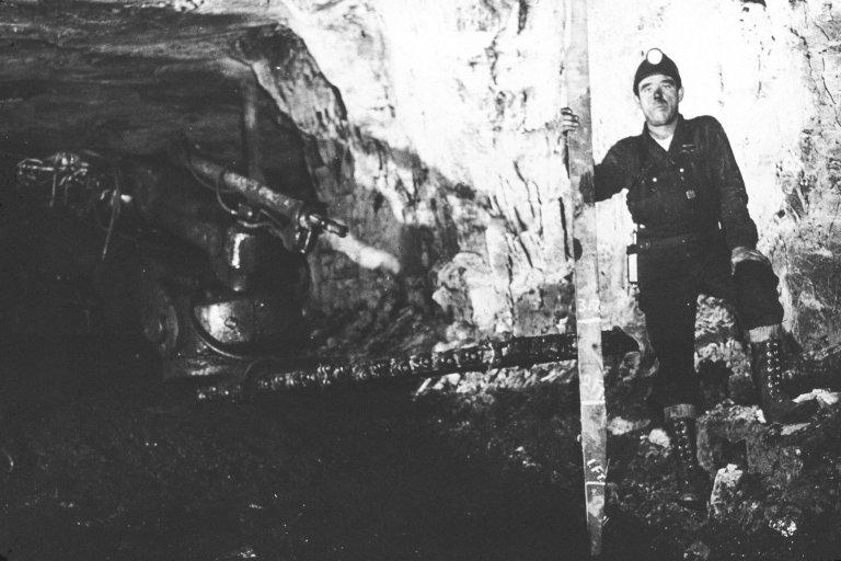 Columbia Mine. USS