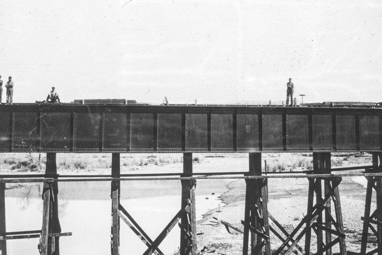 Fort Steele Bridge, Wyoming