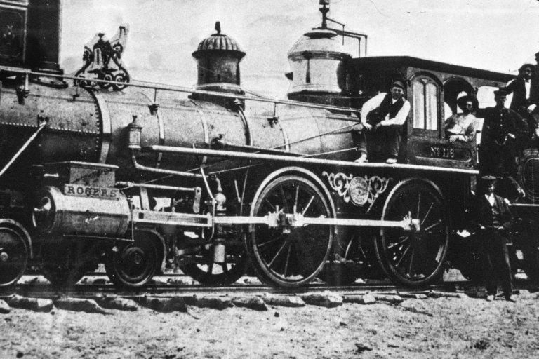 A train locomotive