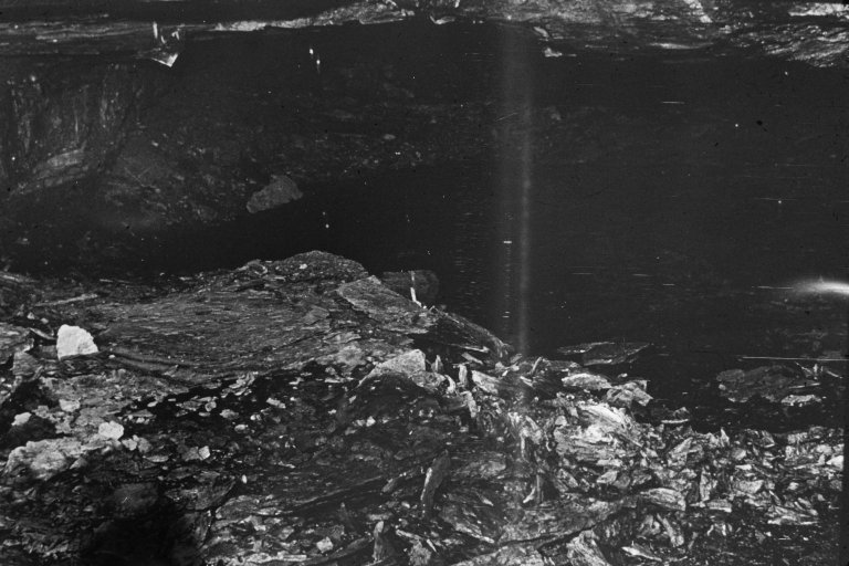 A coal mine explosion