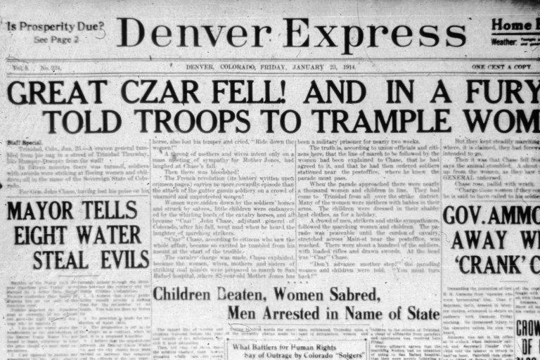Denver (Trinidad-Ludlow) 1914