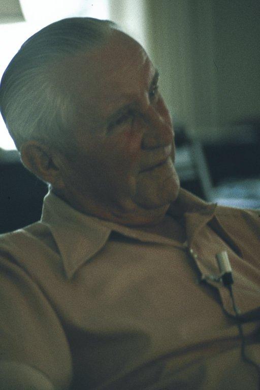 A retired coal miner