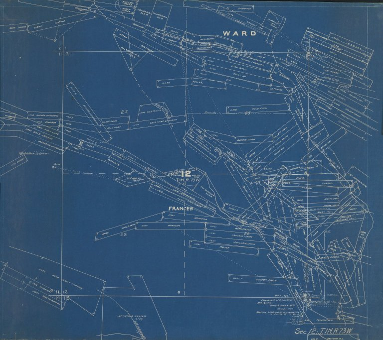 Map of Sec. 12, T.1N.R.73W.