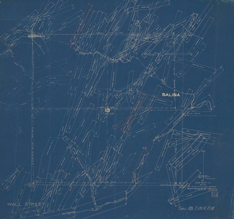 Map of Sec.18, T.1N.R.71W.