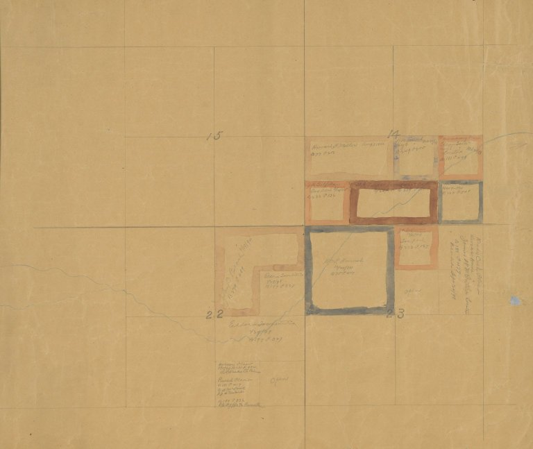 Map of Sec.23, T.1S.R.73W.